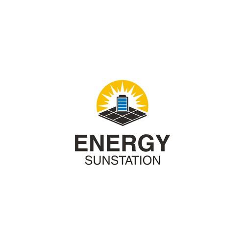 Logo for energy sunstation