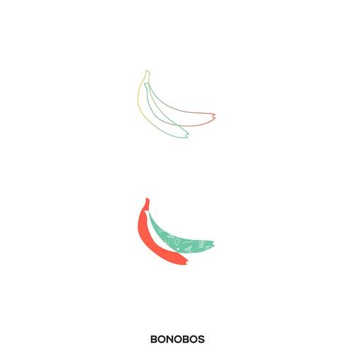 Bananas logo concept
