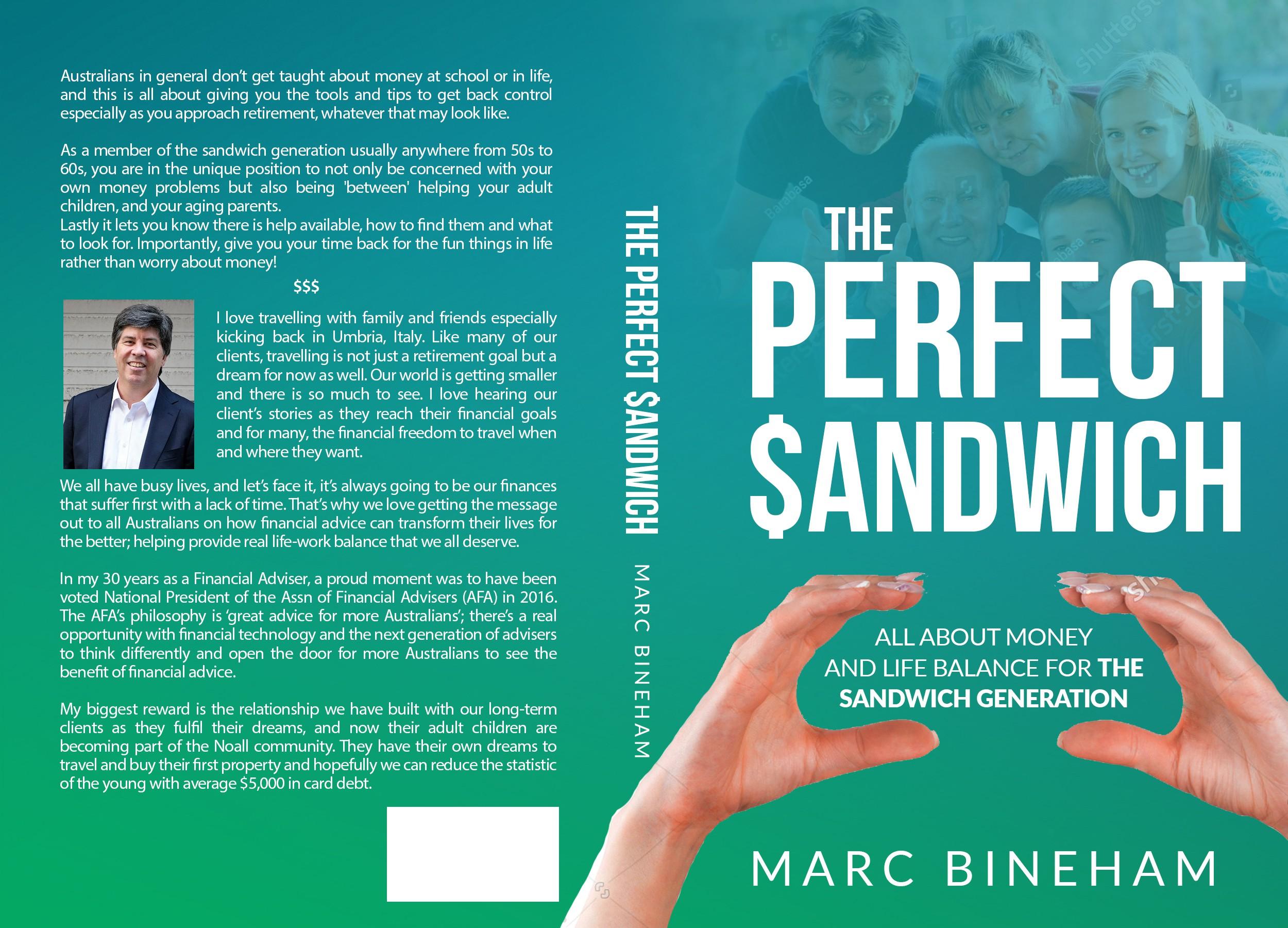 The Perfect Sandwich Book Cover Contest
