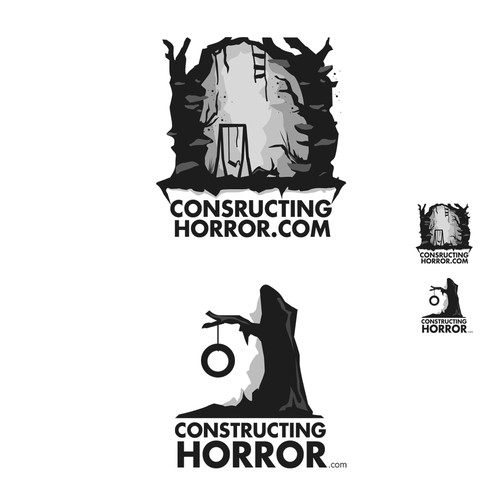 Create the next logo for constructinghorror.com