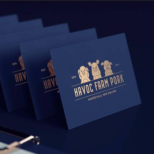 Havoc Farm Pork | Re-brand