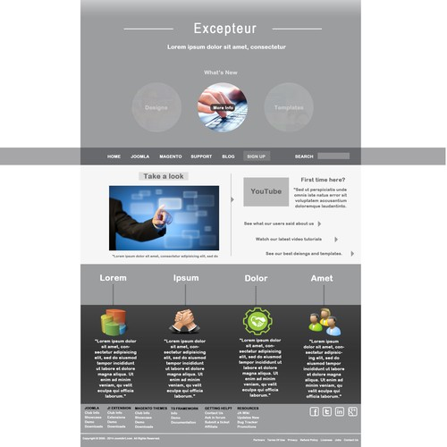 JoomlArt Design Contest #02 - Corporate / Business