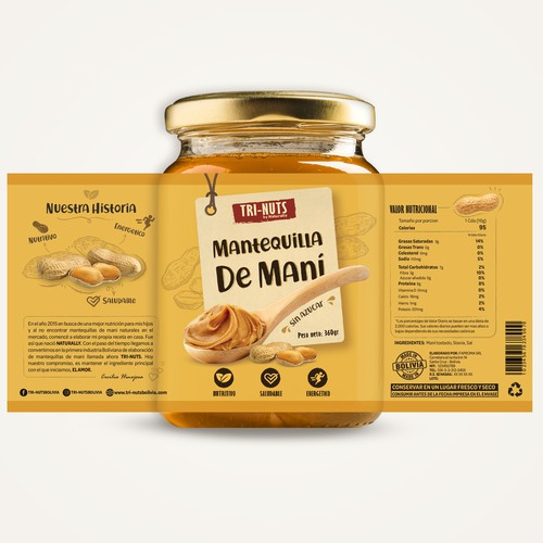 Peanut Butter packaging design
