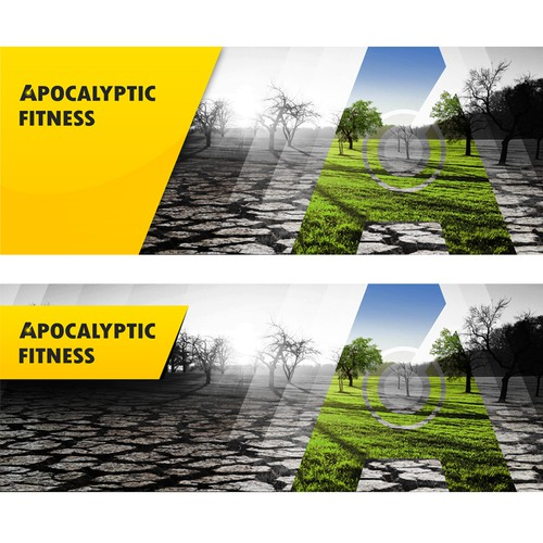 "Facebook Cover for ""Apocalyptic Fitness"""