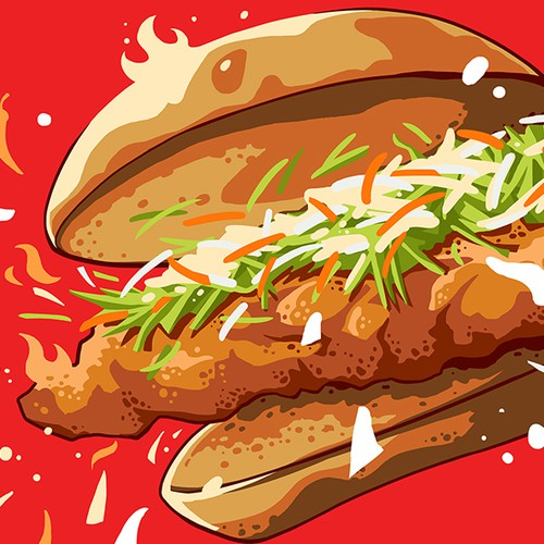 Illustration for Mico's Hot Chicken