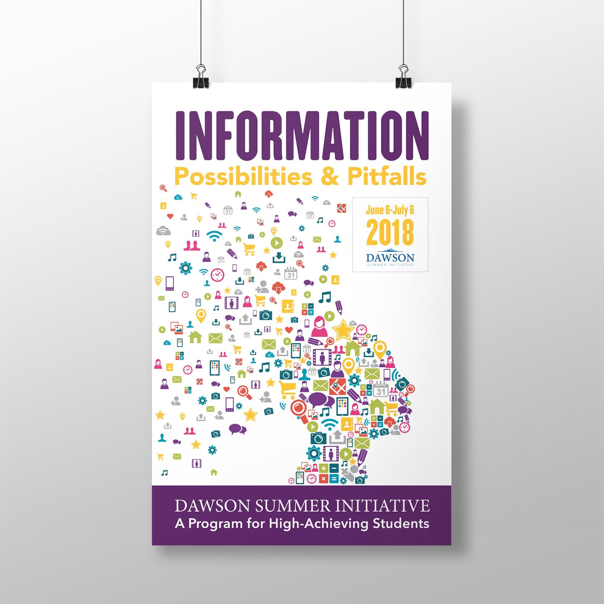 Dawson Summer Initiative: poster for Summer 2018