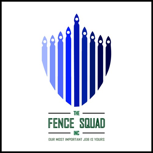 Fence company logo