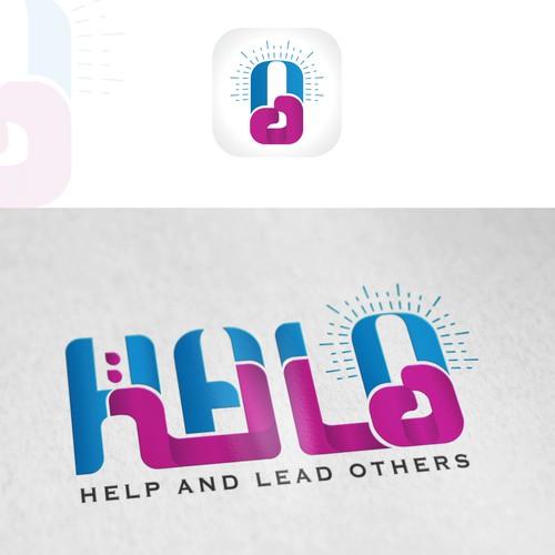Arabic English logo