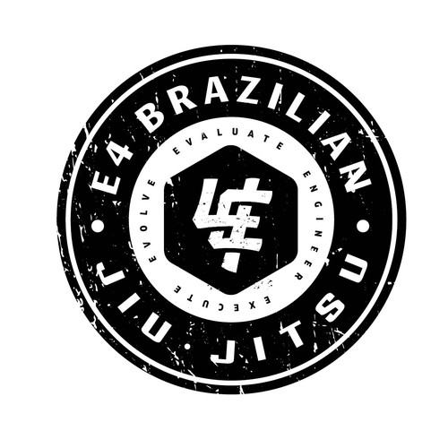 Jiu-jistu monogram logo