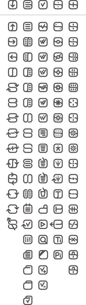 switchedOn icon set