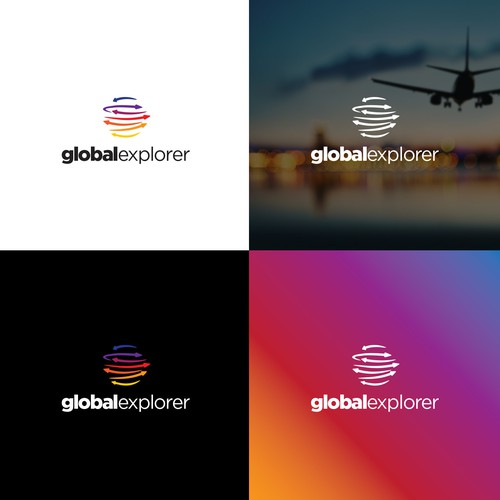 Logo Design For Global Travel Company