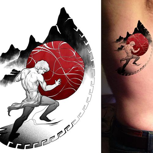I'm Garrett. I work for 99designs! I need a memorably creative tattoo!