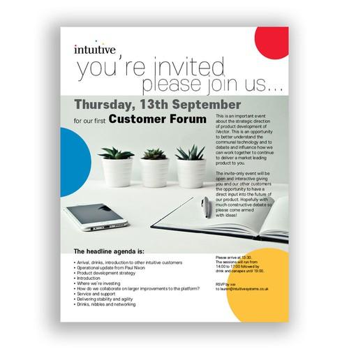 Intuitive Invite