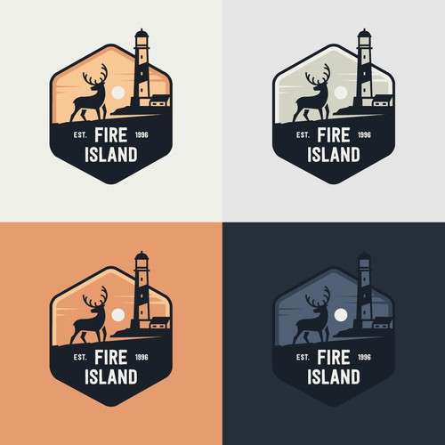 Badge for Fire Island