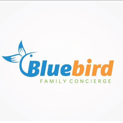 Create a winning design for Bluebird Family Concierge