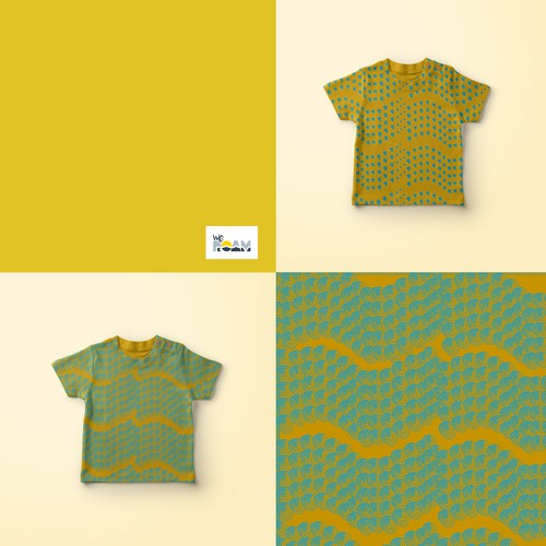 Pattern for a Children Clothing Brand