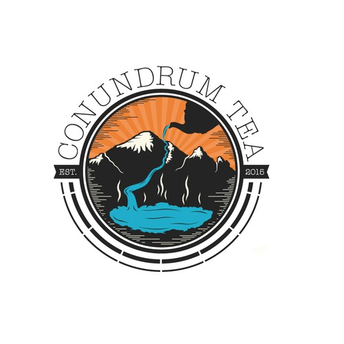 Conundrum Tea company logo