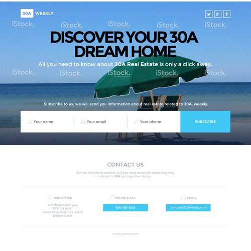 Beach - Creative Freedom - Simple Artistic Design Needed!