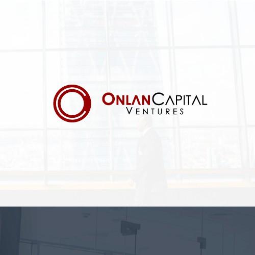 lettermark logo concept for onlan capital