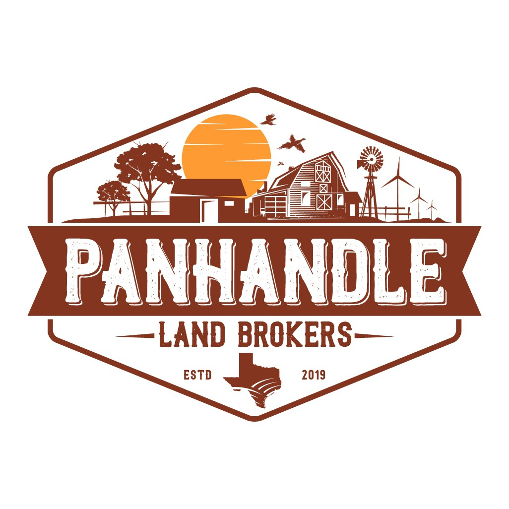 Real Estate Logo for farm and ranch sales