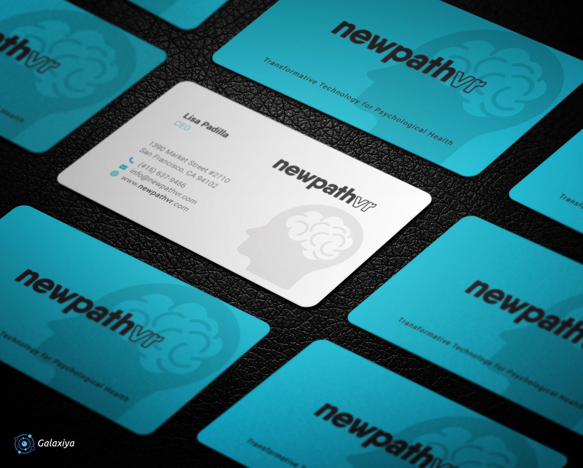 NewPathVR Business Cards