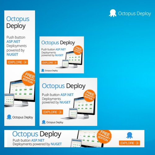 Brilliant banner ad for Octopus Deploy