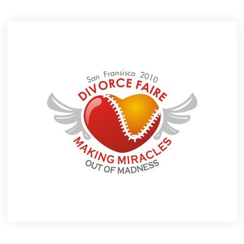 logo design for divorce faire