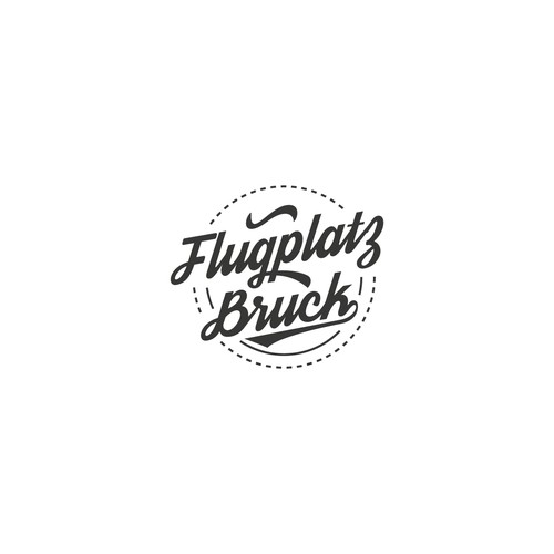 cool logo for Flugplatz Bruck