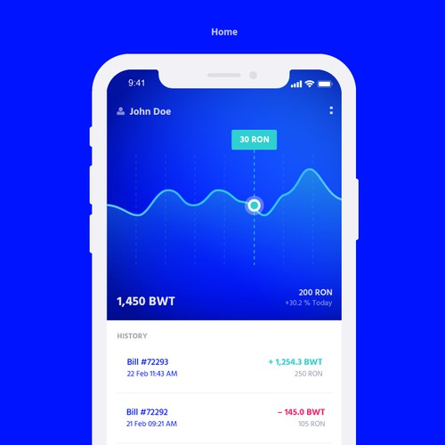 Crypto mobile app