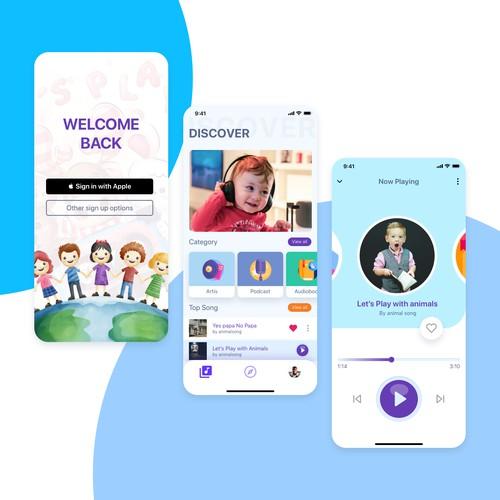 Media App For kids