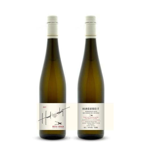 wine label for AKBormann