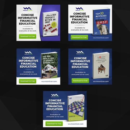 E-Book Web Ad Banners