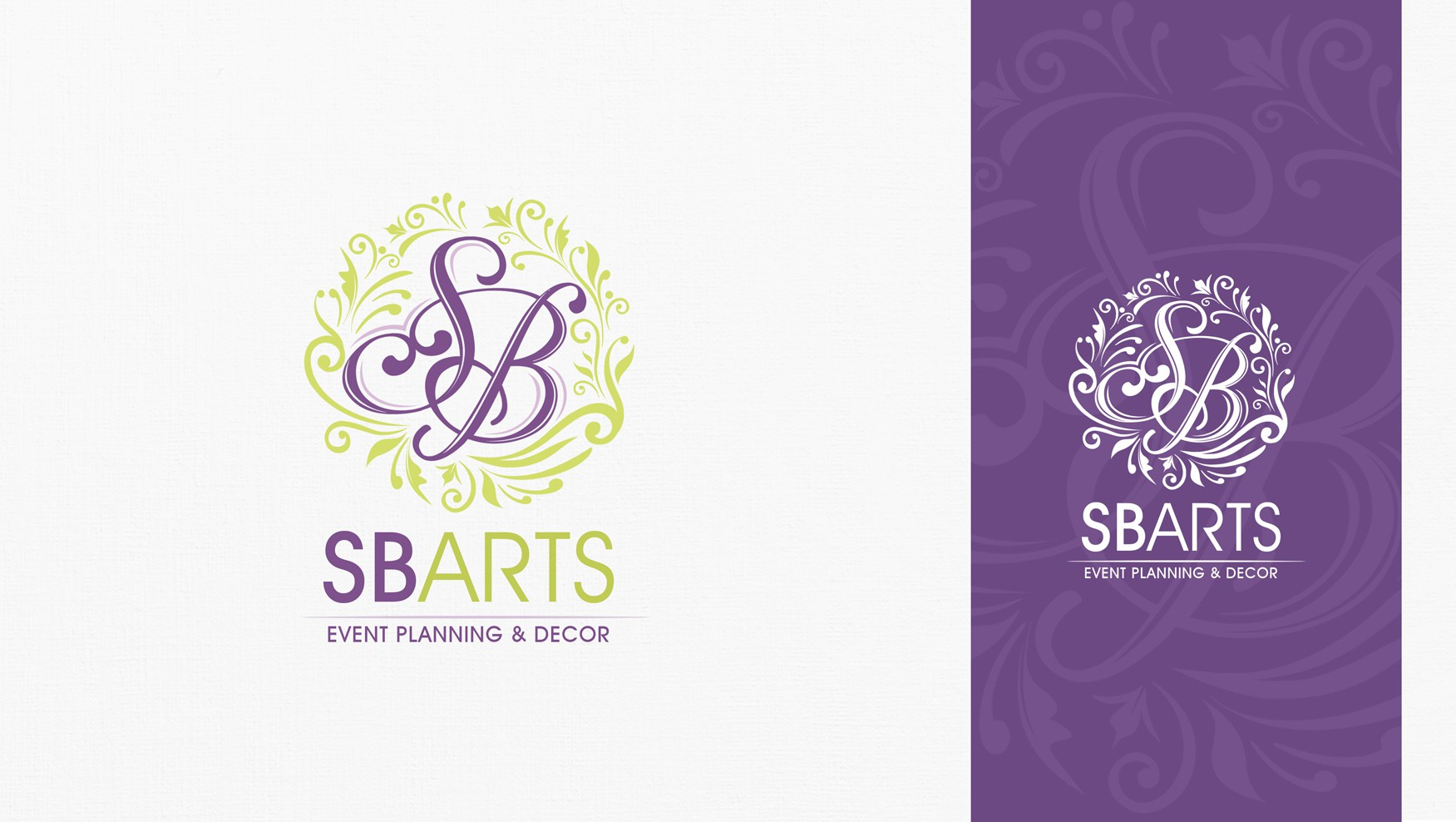 Create a logo that is strong yet feminine for a full production events company.