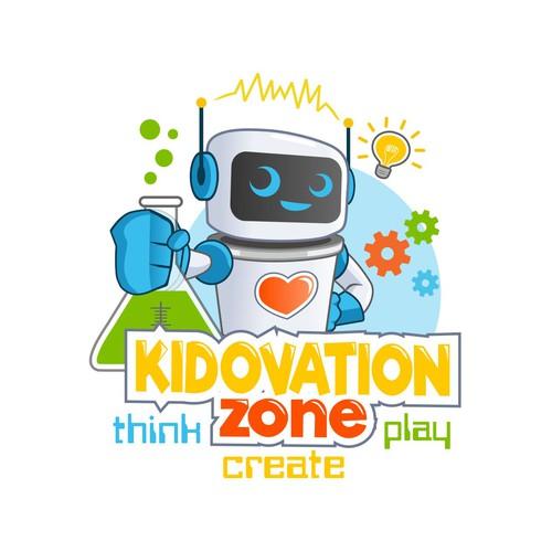 Kidovation Zone Logo