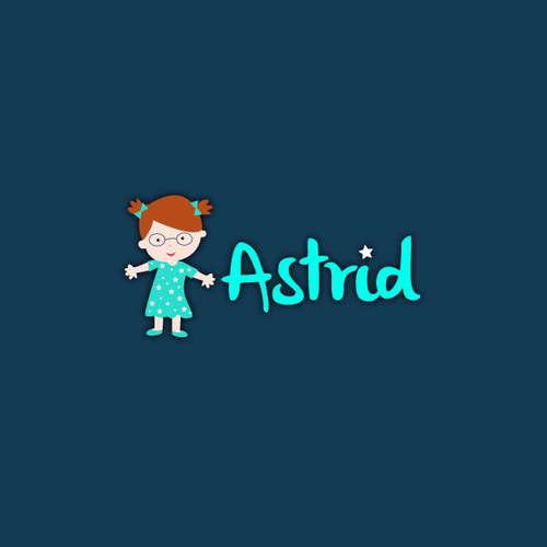 Childish Logo for Astrid
