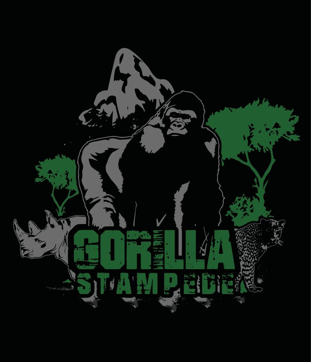 Design a T-shirt/Logo for Gorilla Stampede