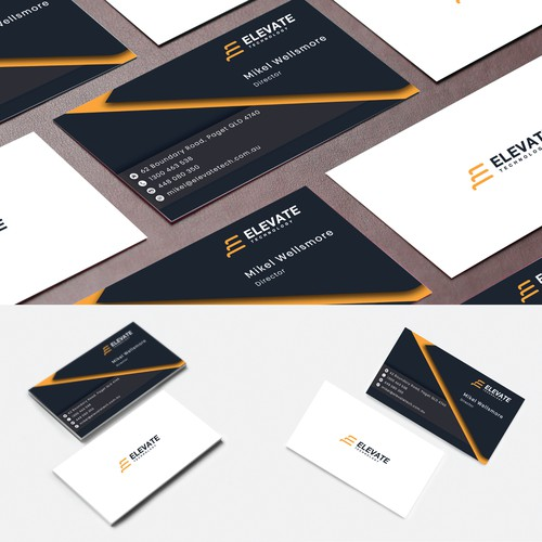 elevate business card