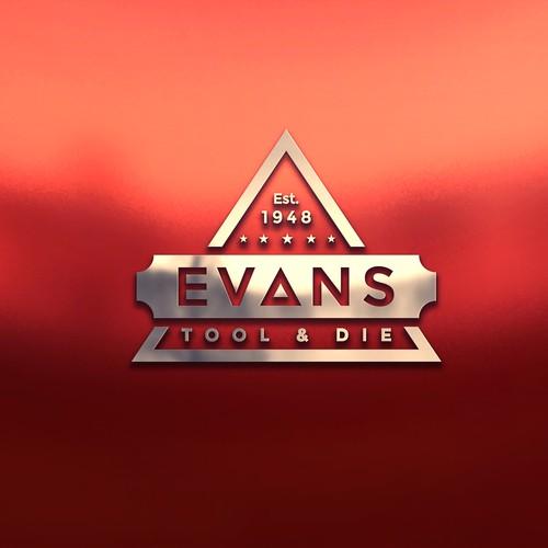 Clean Logo for EVANS