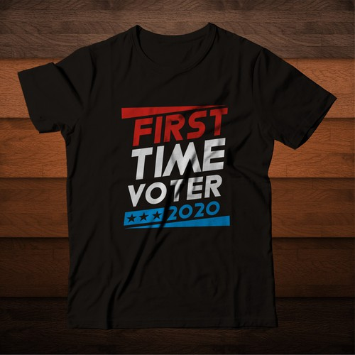 Classy Voting T-shirt with Manners.