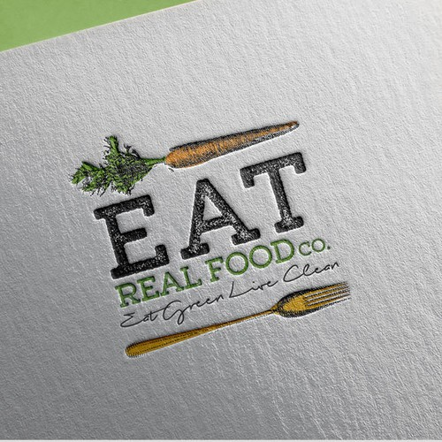 Logo for Eat Real Food Co.