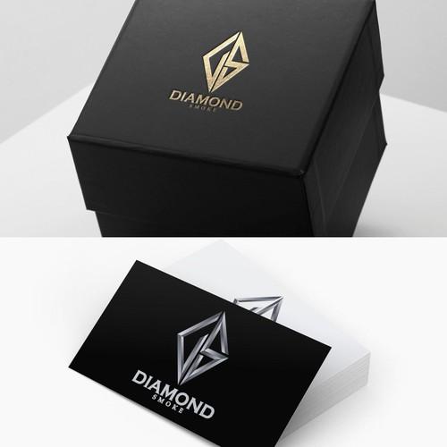 Logo Design For Diamond Smoke