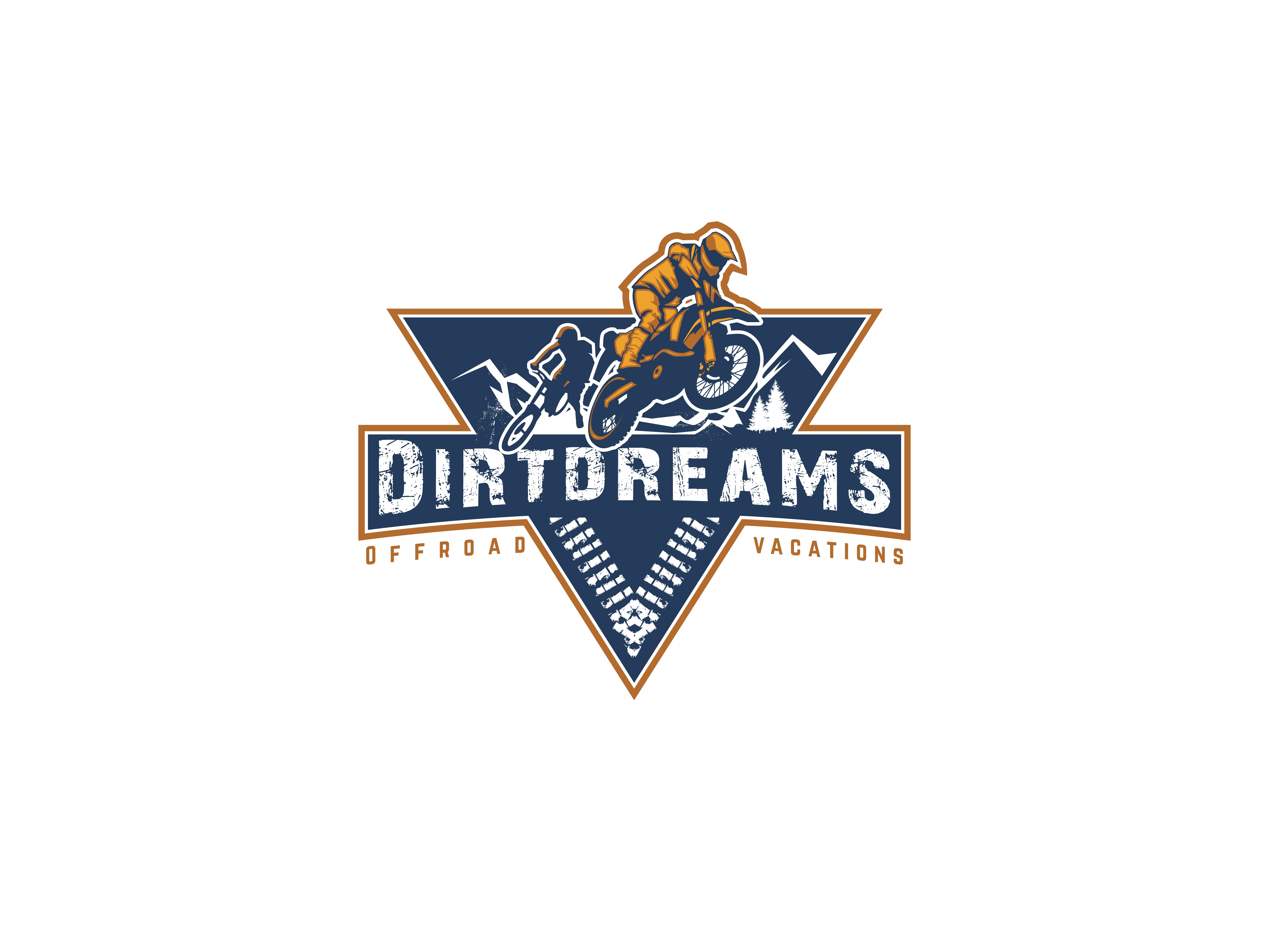 Dirtdreams - create a logo for a VIP & active off road vacation.
