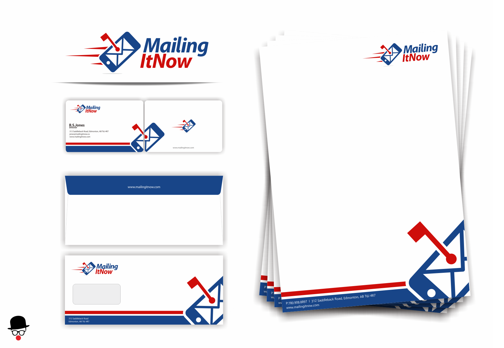 Create the next logo for Mailing It Now