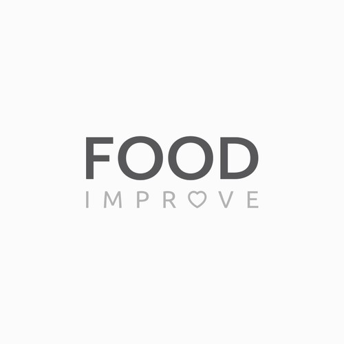 Clean logo design for Food Improve