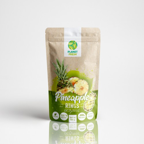 Create Natural, Healthy, Organic New Pack Design for Planet Fresh