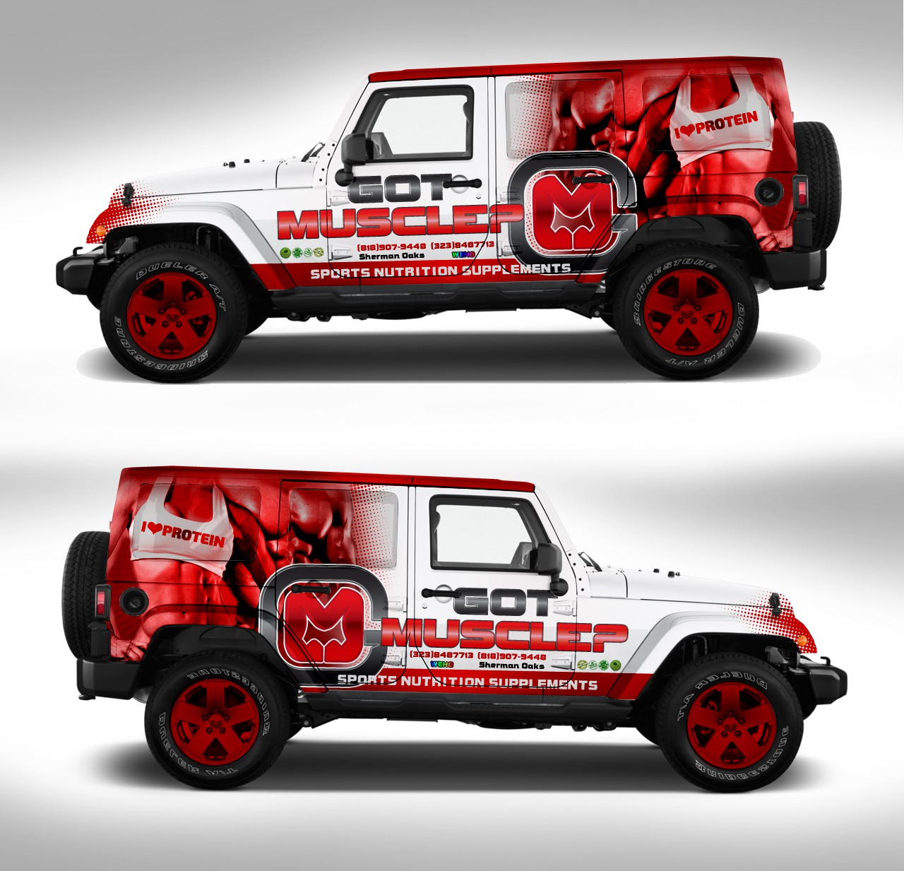 [Vehicle Wrap] Part of my success depends on your Art, Let your creativity Draw the crowd...So Art Away.