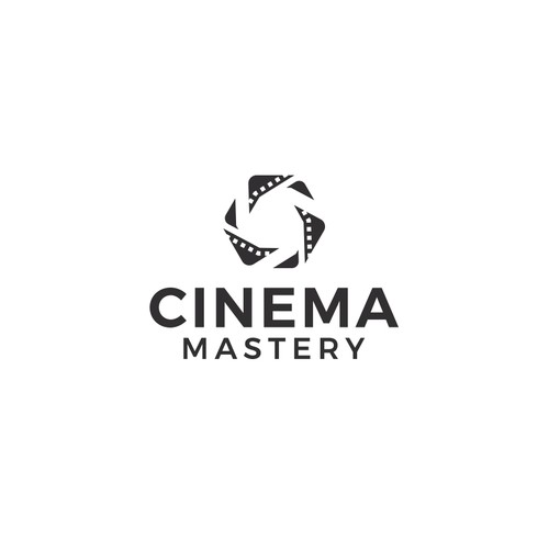 Bold logo concept for film coaching