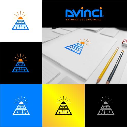 Bold logo design for Dvinci solar company
