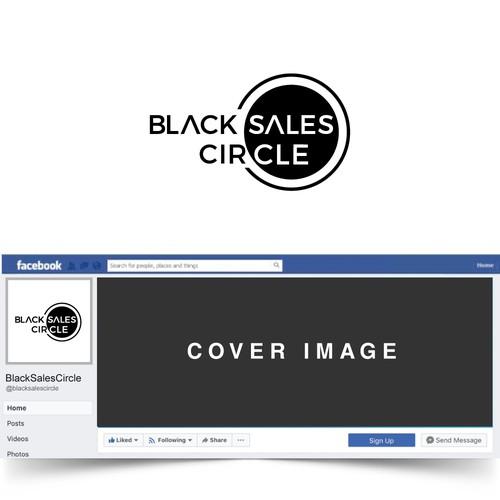 Black Sales Circle Logo
