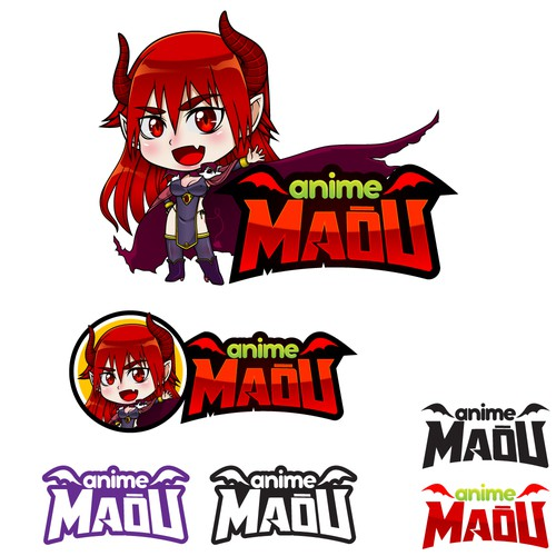 Logo for a Anime TV channel